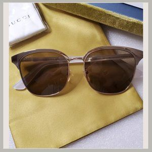 Gucci Pearl Framed Sunglasses 100% UV Protection